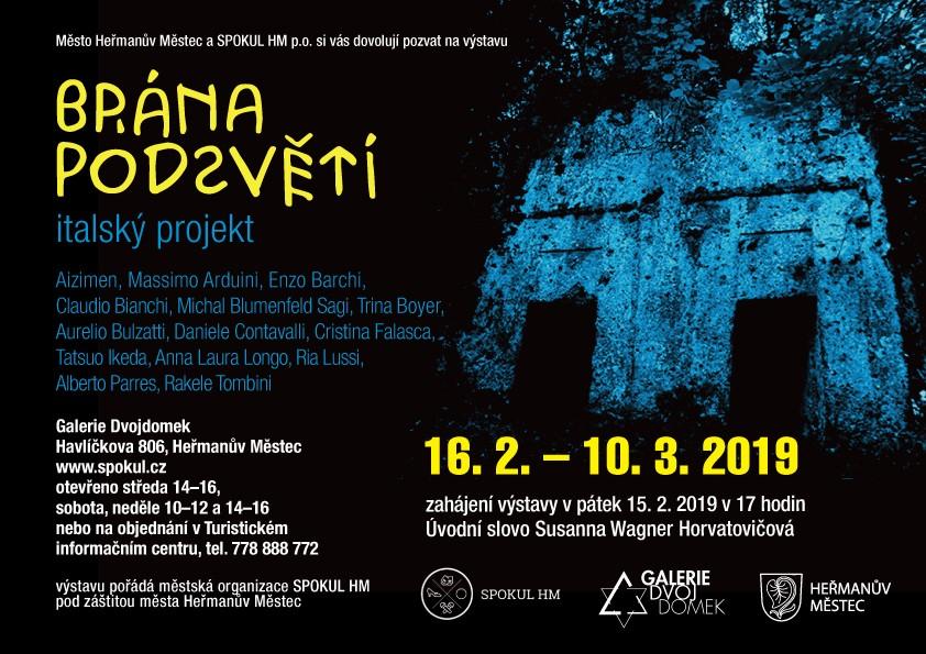 Brána podsvětí - pozvánka na výstavu