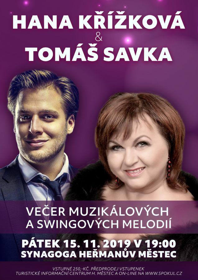 HANA KŘÍŽKOVÁ &TOMÁŠ SAVKA