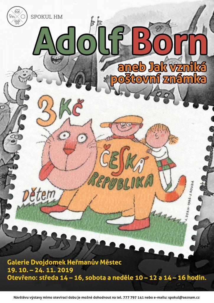 Adolf Born plakát