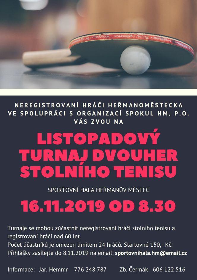 Turnaj pingpong