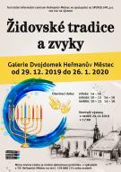 výstava Židovské tradice a zvyky v Galerii Dvojdomek