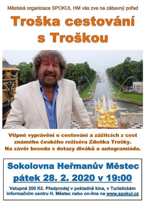 Zdeněk Troška vsokolovně