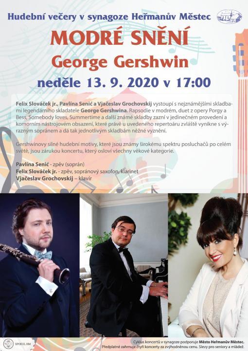 MODRÉ SNĚNÍ - George Gershwin