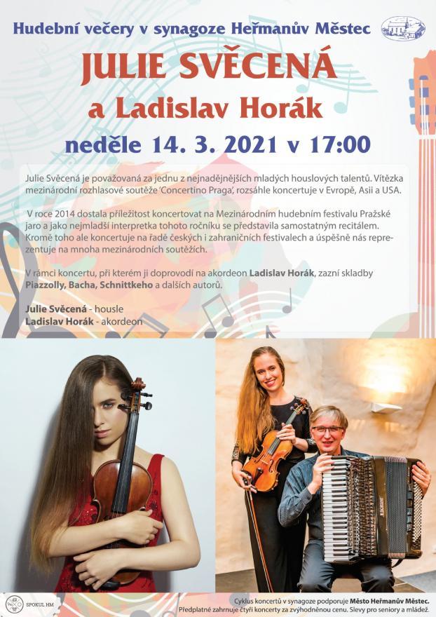 Julie Svěcená aLadislav Horák