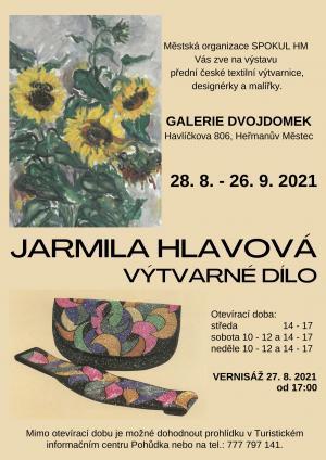 Jarmila Hlavová  výstava