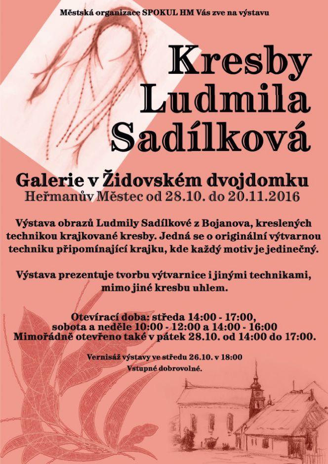 Akce V Okoli Kresby Ludmila Sadilkova Vystava Oficialni