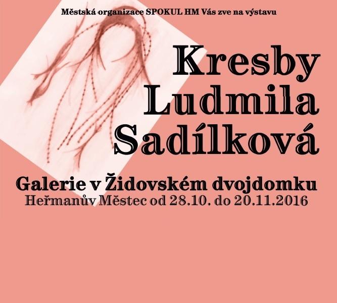 Kresby Ludmila Sadílková (výstava) 1