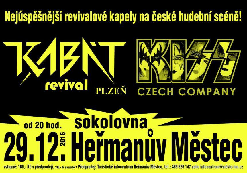 e48f032766c7 Akce v sokolovně - Rockovej mejdan (Kabát a Kiss revival) - SPOKUL ...