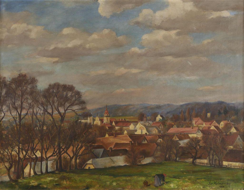 Výstava obrazů Jaroslava Heřmanského